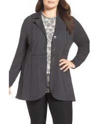 NIC+ZOE - Blue Seamed Riding Jacket - Lyst