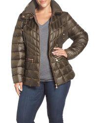Bernardo - Packable Jacket With Down & Primaloft Fill, Green - Lyst