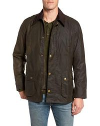Barbour - Brown Ashby Wax Jacket for Men - Lyst