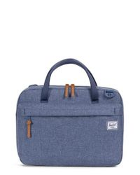 Herschel Supply Co. - Blue Gibson Messenger Bag for Men - Lyst