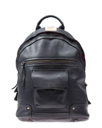 Will Leather Goods - Black 'silas' Backpack for Men - Lyst