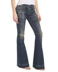 Citizens of Humanity - Blue Charlie Flare Leg Jeans - Lyst