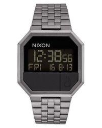 Nixon - Black Rerun Digital Bracelet Watch for Men - Lyst