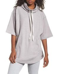 Zella - Gray Get It Girl Pullover - Lyst