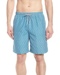 Peter Millar Blue Night Swimming Swim Trunks for men