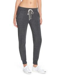 Alternative Apparel - Black Fleece Jogger Sweatpants - Lyst