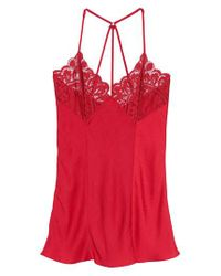 Black Bow - Red Rita Chemise - Lyst