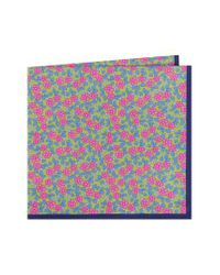 Ted Baker   Multicolor Carnaby Floral Cotton Pocket Square for Men   Lyst