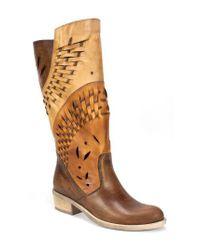 Summit - Brown Tallie Western Boot - Lyst