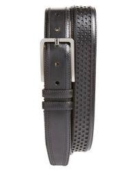 Mezlan - Black Palma Leather Belt for Men - Lyst