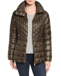 Bernardo | Multicolor Packable Jacket With Down & Primaloft Fill, Green | Lyst