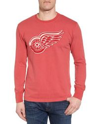 American Needle Gresham Red Wings T-shirt for men
