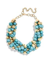 BaubleBar - Blue Cytherea Statement Necklace - Lyst