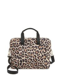Kate Spade - Multicolor Leopard Commuter Bag - Lyst