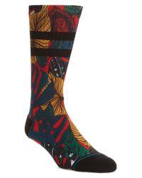 Stance Red House Plant Socks for men
