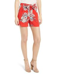 BISHOP AND YOUNG - Red Bishop + Young Wild Heart Shorts - Lyst