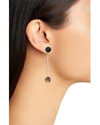 Faris - White Sway Earring - Lyst