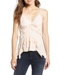 Chelsea28 - Multicolor Tiered Trim Tank Top - Lyst