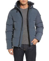 Ugg - Gray Ugg Technical Water Resistant Down Parka for Men - Lyst