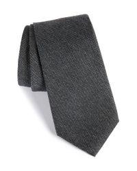 Calibrate | Black Resolution Silk Blend Tie for Men | Lyst
