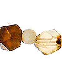 Panacea - Metallic Beaded Layered Shell Pendant Necklace - Lyst