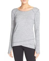 Zella - White Layer Me Pullover - Lyst