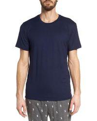 Polo Ralph Lauren - Blue Therma Sleep Crewneck T-shirt for Men - Lyst