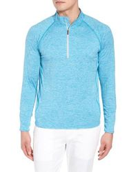 Peter Millar - Multicolor Sydney Performance Half Zip Pullover for Men - Lyst