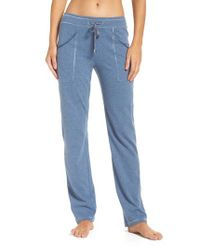 Felina | Blue Lucy Lounge Pants | Lyst