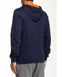 DIESEL - Blue Brandon Z Hooded Sweatshirt for Men - Lyst