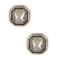Lagos   Metallic Sterling Silver Rocks Stud Earrings   Lyst