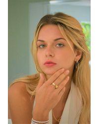 Liza Schwartz - Metallic Ultra Ring - Lyst