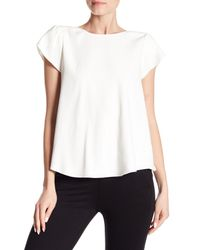Joie - White Stellany Split Back Blouse - Lyst
