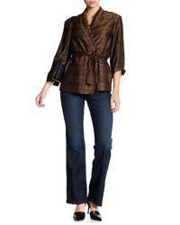 NYDJ - Blue Barbara Bootcut Slim Fit Jeans - Lyst