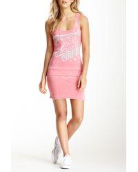 Affliction - Pink Kate Dress - Lyst