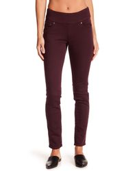 Jag Jeans - Purple Nora High Rise Skinny Pull-on Jeggings - Lyst