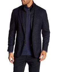 Bugatchi | Blue Removable Interior Blazer for Men | Lyst