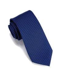 Perry Ellis - Blue Waki Mini Geo Print Tie for Men - Lyst