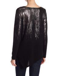 Karen Kane - Black Ombre Effects Sweater - Lyst