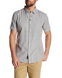 Imperial Motion - Gray Triumph Woven Slim Fit Shirt for Men - Lyst