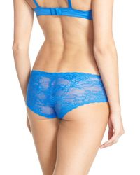 Cosabella - Blue Trenta Lace Brief - Lyst