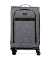 "Ben Sherman | Gray Durham 24"" 8-wheel Expandable Upright for Men 