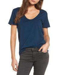 AG Jeans - Blue Henson Tee - Lyst