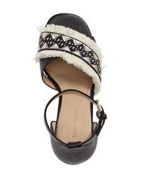 Pour La Victoire - Black Havana Dress Sandal - Lyst