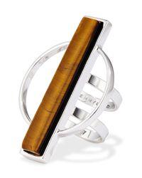 Jenny Bird - Metallic Pollux Dual Band Ring - Size 8 - Lyst