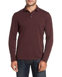 Robert Barakett - Purple 'banff' Regular Fit Polo for Men - Lyst