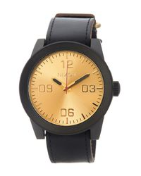 Nixon - Metallic Men's Corporal Watch for Men - Lyst