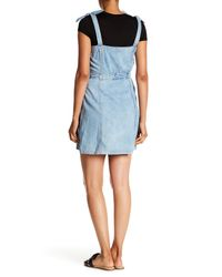 La Vie Rebecca Taylor - Blue Drapey Denim Dress - Lyst