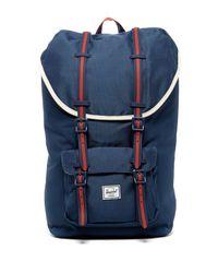 178f7dff34 Lyst - Herschel Supply Co. Little America Backpack in Blue