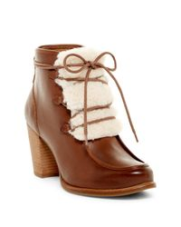 UGG | Brown Analise Genuine Shearling Boot | Lyst